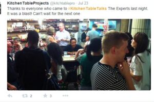 Kitchen Table Talks – Speednetworking for food artisans!