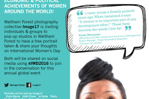 Get your free photo portrait and feature in International Women's Day