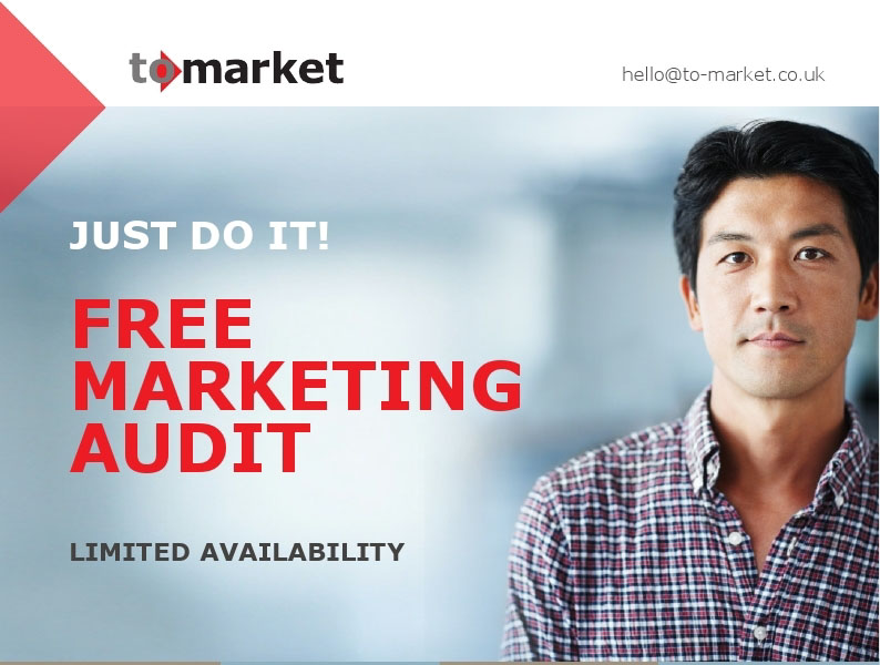 Book your free marketing audit - terms apply